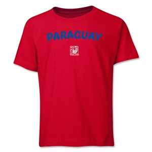 Paraguay FIFA U-17 Women's World Cup Costa Rica 2014 Youth Core T-Shirt (Red)