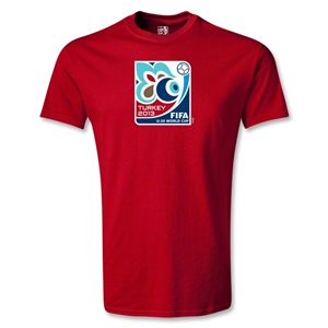 FIFA U-20 World Cup Turkey 2013 Youth Emblem T-Shirt (Red)