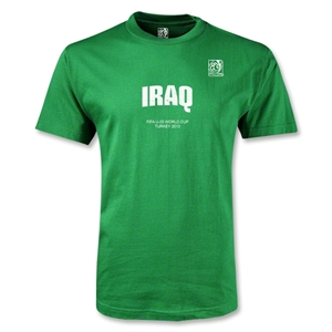 FIFA U-20 World Cup Turkey Youth Iraq T-Shirt (Green)