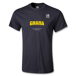FIFA U-20 World Cup Turkey Youth Ghana T-Shirt (Black)