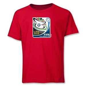 FIFA U-17 World Cup UAE 2013 Youth Official Emblem T-Shirt (Red)