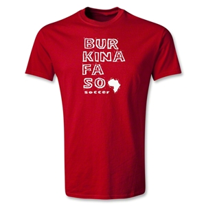 Burkina Faso Youth Country T-Shirt (Red)