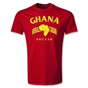 Ghana Youth Country T-Shirt (Red)