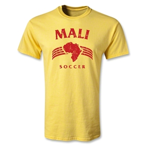 Mali Youth Country T-Shirt (Yellow)