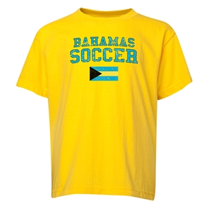 Bahamas Youth Soccer T-Shirt (Yellow)