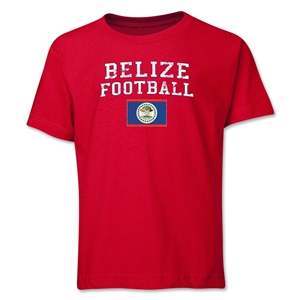 Belize Youth Football T-Shirt (Red)