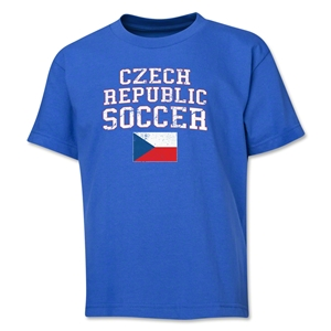 Czech Republic Youth Soccer T-Shirt (Royal)