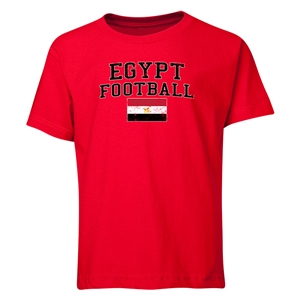 Egypt Youth Football T-Shirt (Red)