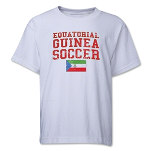 Equatorial Guinea Youth Soccer T-Shirt (White)