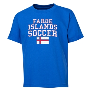 Faroe Islands Youth Soccer T-Shirt (Royal)