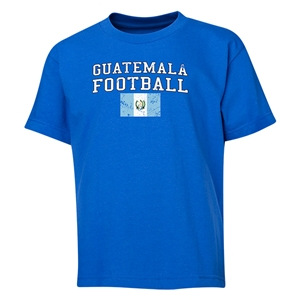 Guatemala Youth Football T-Shirt (Royal)