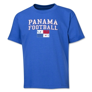 Panama Youth Football T-Shirt (Royal)