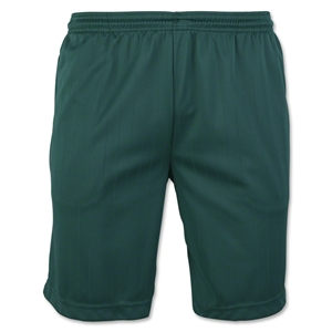 Zip Pocket Coach's Short (Dark Green)