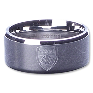 Arsenal Crest Band Ring