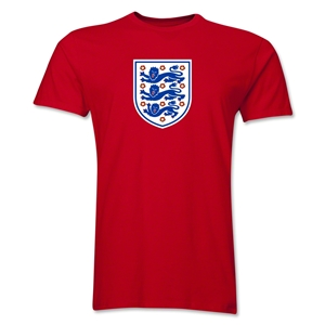 England Core Men's Fashion T-Shirt (Red)