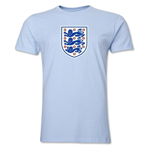England Core Men's Fashion T-Shirt (Sky Blue)