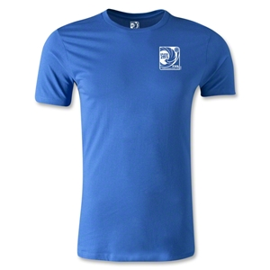 FIFA Confederations Cup 2013 Men's Fashion Small Emblem T-Shirt (Royal)