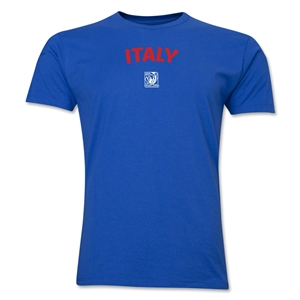 Italy FIFA U-17 Women's World Cup Costa Rica 2014 Men's Core T-Shirt (Royal)