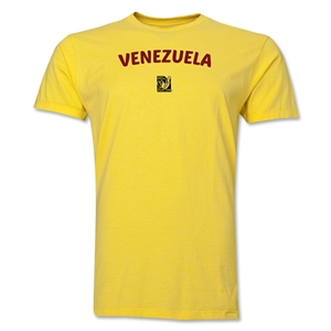 Venezuela FIFA U-17 Women's World Cup Costa Rica 2014 Men's Core T-Shirt (Yellow)