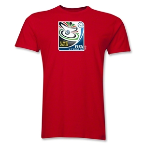 FIFA U-17 World Cup UAE 2013 Men's Official Emblem T-Shirt (Red)