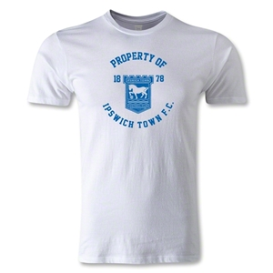 Ipswich Property Men's Fashion T-Shirt (White)
