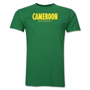Cameroon Powered by Passion T-Shirt (Green)