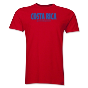 Costa Rica Powered by Passion T-Shirt (Red)