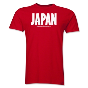 Japan Powered by Passion T-Shirt (Red)