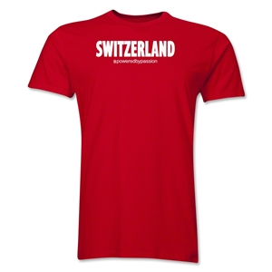 Switzerland Powered by Passion T-Shirt (Red)