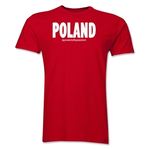 Poland Powered by Passion T-Shirt (Red)
