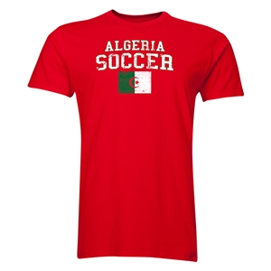 Algeria Soccer T-Shirt (Red)