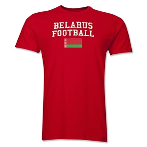 Belarus Football T-Shirt (Red)