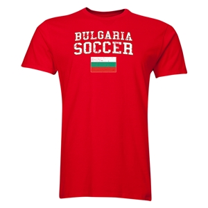 Bulgaria Soccer T-Shirt (Red)