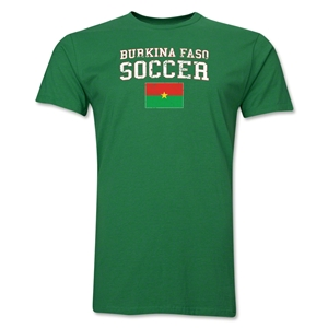 Burkina Faso Soccer T-Shirt (Green)