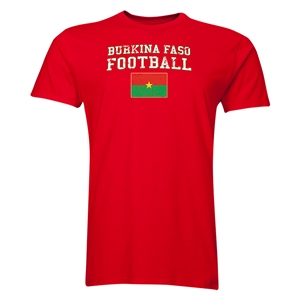 Burkina Faso Football T-Shirt (Red)