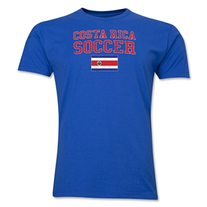 Costa Rica Soccer T-Shirt (Royal)