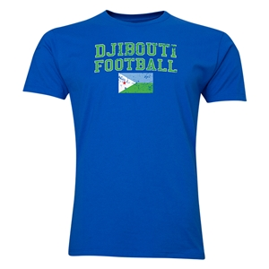 Djibouti Football T-Shirt (Royal)