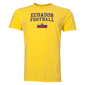 Ecuador Football T-Shirt (Yellow)
