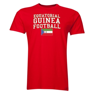 Equatorial Guinea Football T-Shirt (Red)