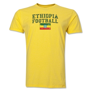 Ethiopia Football T-Shirt (Yellow)