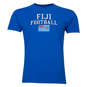 Fiji Football T-Shirt (Royal)