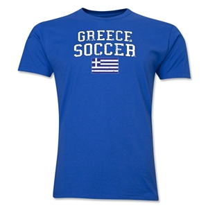Greece Soccer T-Shirt (Royal)