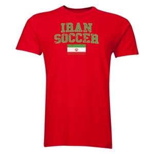 Iran Soccer T-Shirt (Red)