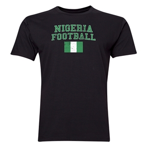 Nigeria Football T-Shirt (Black)