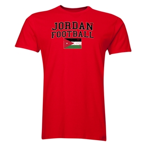 Jordan Football T-Shirt (Red)