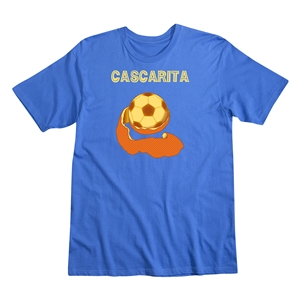 Cascarita Men's Fashion T-Shirt (Royal)