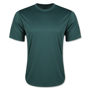 Moisture Wicking Poly T-Shirt (Dark Green)