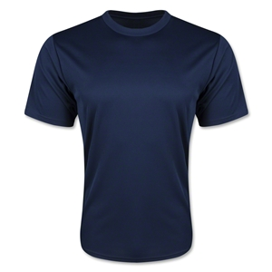 Moisture Wicking Poly T-Shirt (Navy)