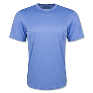 Moisture Wicking Poly T-Shirt (Sky)