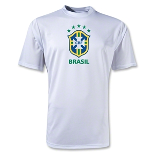 Brazil Poly T-Shirt (White)